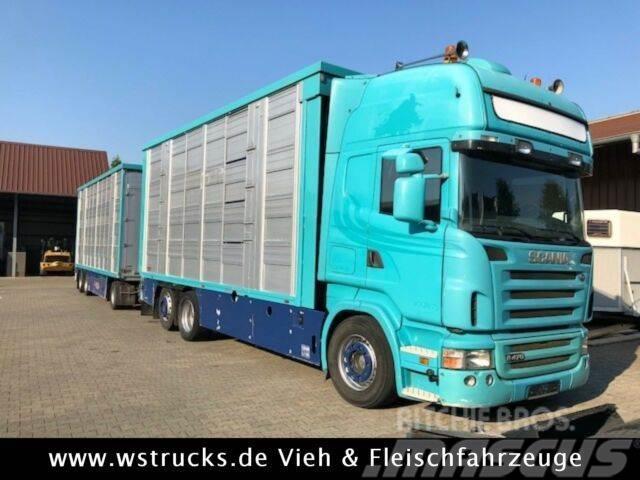 Scania R 470 Topline Finkl 4 Stock Lift Waage Hubdach
