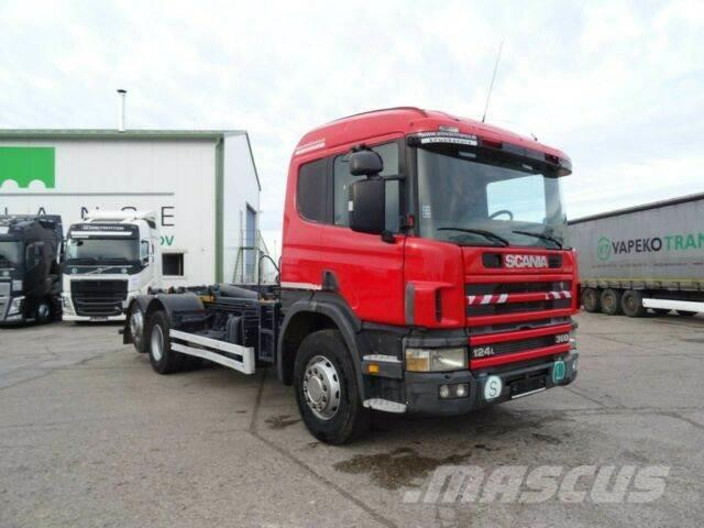 Scania R124.360 for containers 6x2, manual, vin 407