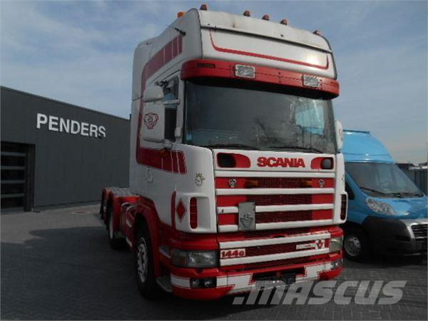 Scania R144 GA 460 V8 6X2 TOPLINE KLIMA TOP ZUSTAND