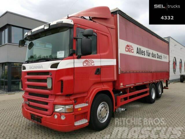 Scania R340 LB6X2*4MNA /Lenkachse /Ladebordw. /Retarder