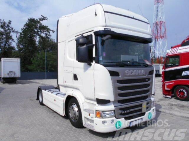 Scania R410 TOPLINER 2017, Low Deck Mega