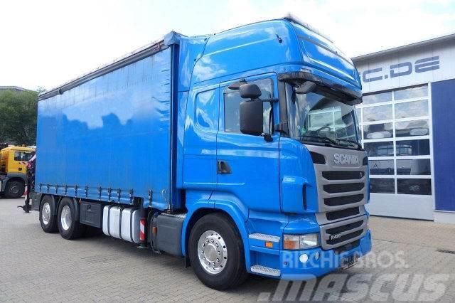 Scania R420 6x2 EURO5 Mit Kran Palfinger PK23002-SH