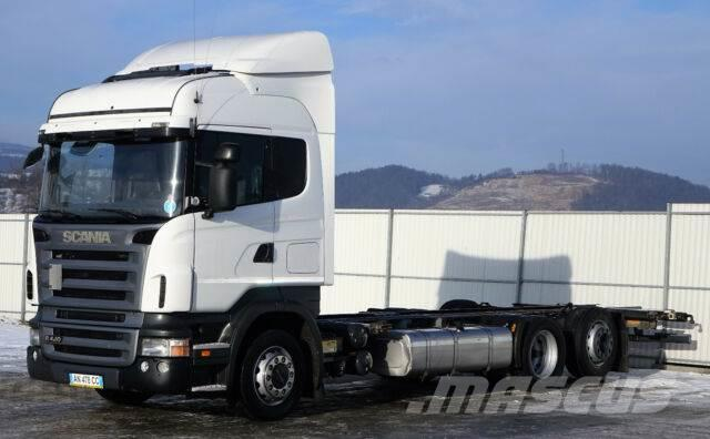 Scania R420 Fahrgestell 7,50 m * EURO 5 * Topzustand!