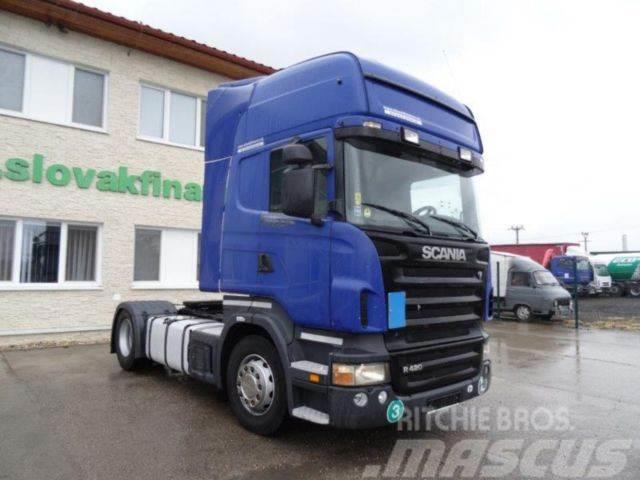 Scania R420,manual gearbox, EURO 3,VIN 638
