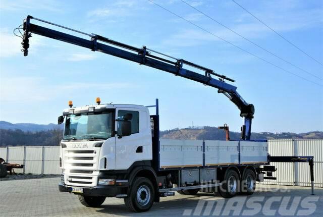 Scania R420 Pritsche 7,30m +Kran/FUNK *6x4*Topzustand!