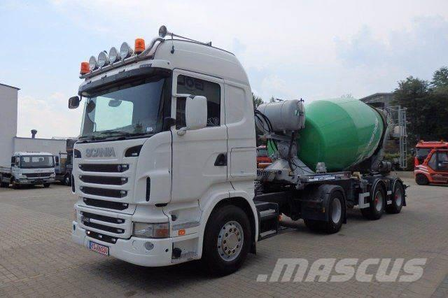 Scania R440 4x2 SZM + Betonmischer Auflieger Schwing 10