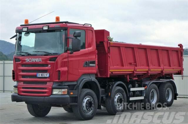 Scania R480 Kipper 6,20m+Bordmatic *8x4*Topzustand!