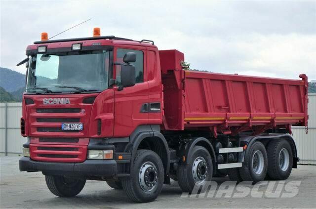 Scania R480 Kipper 6,20m+Bordmatic *8x4*Topzustand!
