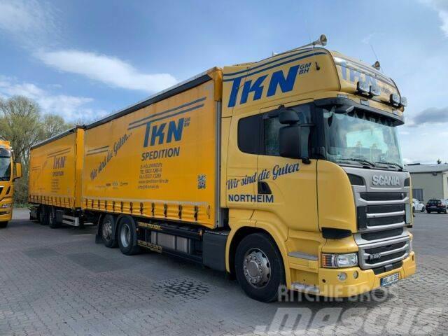 Scania R490 LB6X2*4MNB - EURO6 - DURCHLADER - KOMPL.ZUG
