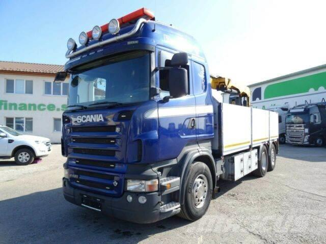 Scania R620 V8 with crane 6x2, EURO 4 vin 617