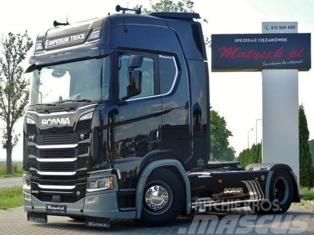 Scania S 520 / V8 /RETARDER/E6/ACC/I-COOL/NAVI/LEATHER