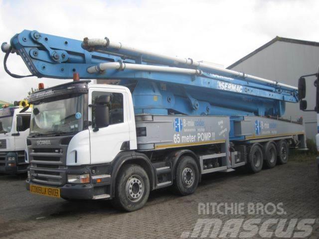 Scania SERMAC 5 TR 61 / 61 meter boom