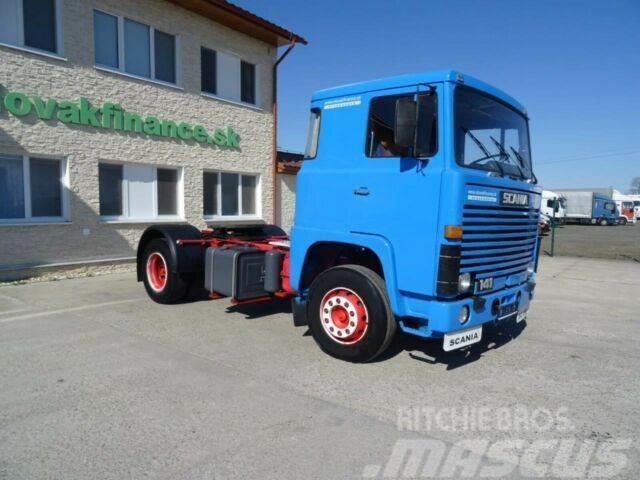 Scania V8 LB111 141, manual gearbox, vin 295