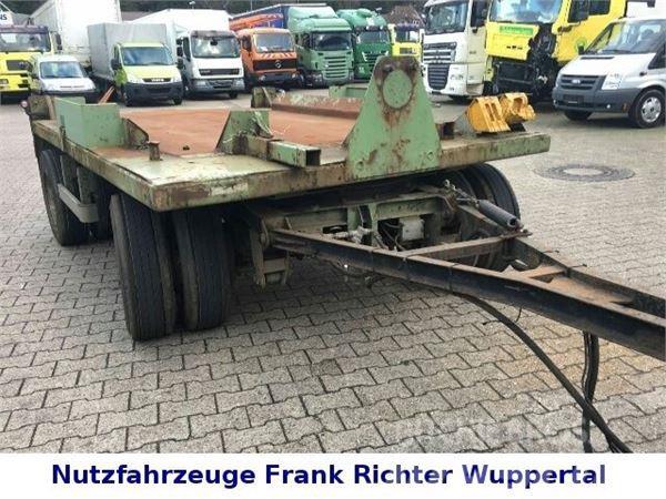 Schmidt PT/16/Z/4 Absetzanhänger für schwere Güter