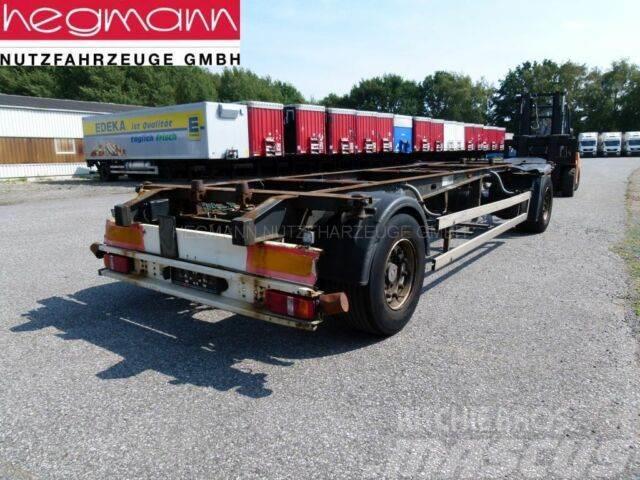 Schmitz Cargobull AFW 18, Drehschemel Maxi-BDF-Lafette, deutsch