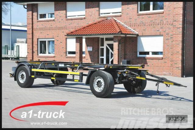 Schmitz Cargobull AWF 18, BDF Standard, 1 Vorbesitzer, HU 08/2019