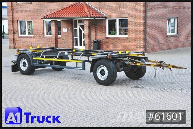 Schmitz Cargobull AWF 18, BDF Standard 7,45 , TÜV 12/2021