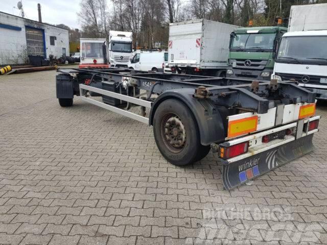 Schmitz Cargobull AWF 18 Lafette1 Hd. Dfzg.nueuer Tüv