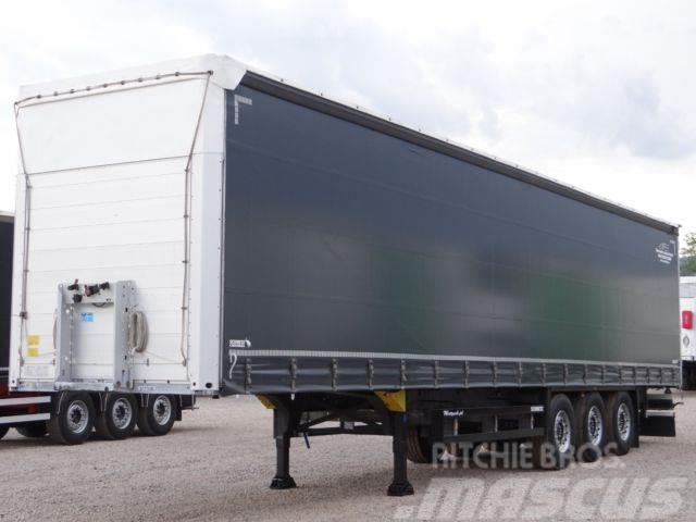Schmitz Cargobull FIRANKA / STANDARD/XL /NOWE OPONY/OŚ PODNOSZONA