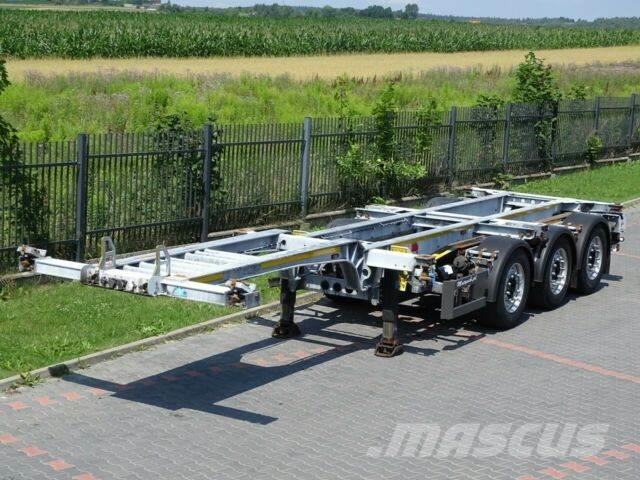 Schmitz Cargobull FOR CONTAINERS/ALL TYPES/ LIFTED AXLE