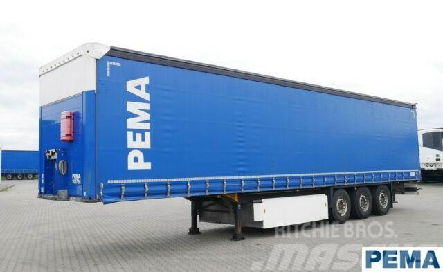 Schmitz Cargobull Lift Achse / Tautliner Edscha /PEMA100736