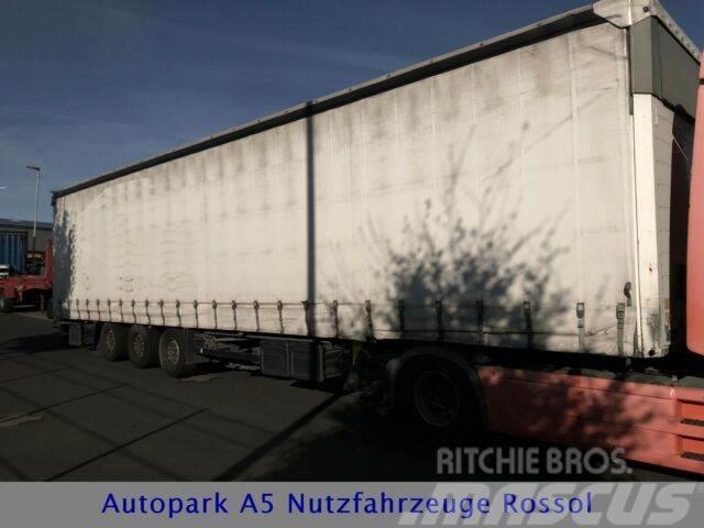 Schmitz Cargobull Mega Pritsche+Plane Auflieger Liftachse