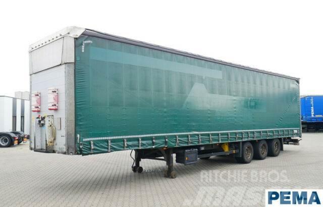 Schmitz Cargobull Megatrailer / Lift Achse / VARIOS / PEMA 64837
