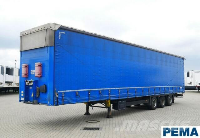Schmitz Cargobull Megatrailer/VARIOS /Hubdach Edscha / PEMA 70145