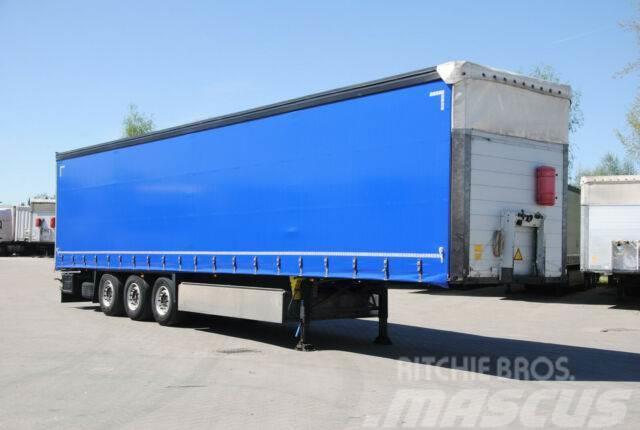 Schmitz Cargobull New tarpaulin, pallet box, lifting axle