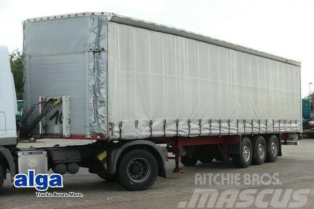 Schmitz Cargobull S01, Edscha-Verdeck, Luftfederung, Liftachse
