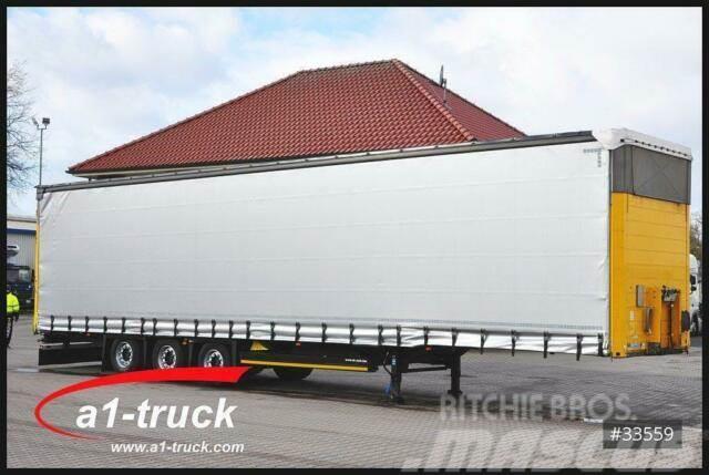 Schmitz Cargobull S01, Mega, verzinkt, Steckrungen, HU 01/2021