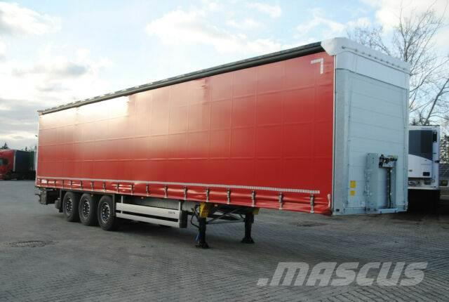 Schmitz Cargobull SCB*S3T, lifting axle, in like new condition
