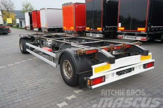 Schmitz Cargobull / SCHMITZ / 2 OSIE / BDF / DMC 18 000 KG