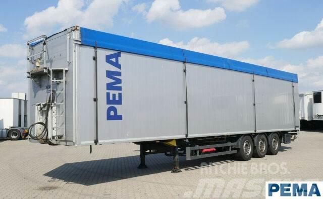 Schmitz Cargobull Schubbodenauflieger /92 m3 Türen / Pema102242