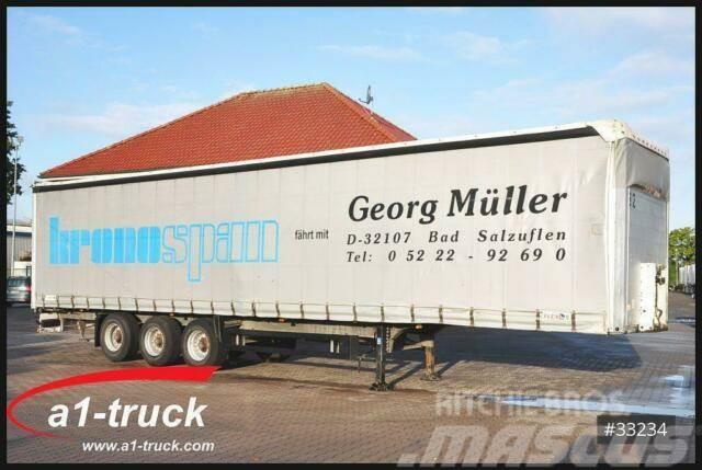 Schmitz Cargobull SCS 24/L, Tautliner, 1 Vorbesitzer, verzinkt
