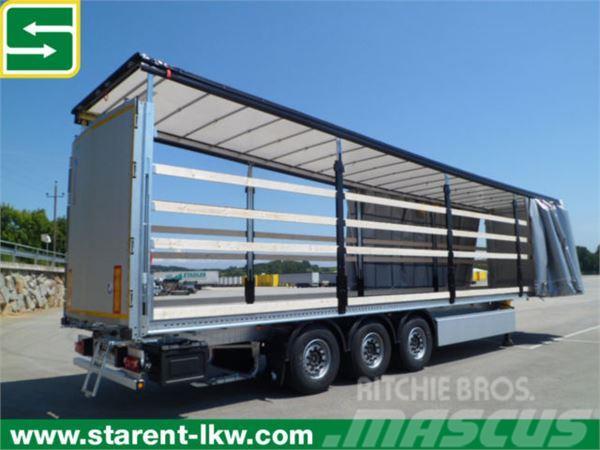 Schmitz Cargobull Tautliner, Hubdach, Liftachse, XL-Zert., PalKa
