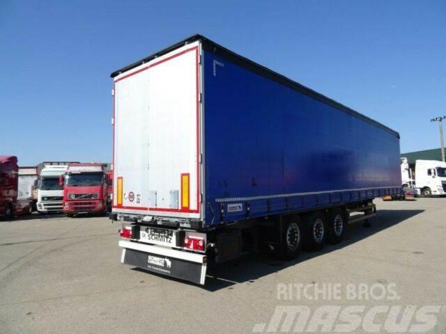 Schmitz Cargobull threesided strickling,uncutable tarpaulin,vin756