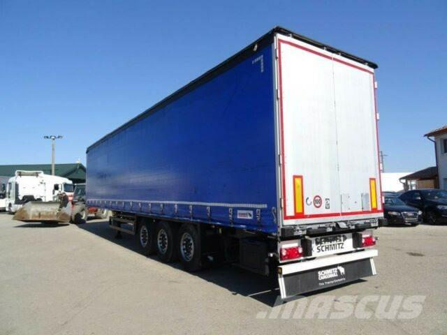Schmitz Cargobull threesided strickling,uncutable tarpaulin,vin762