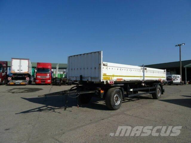 Schmitz Cargobull trailer with bords vin 668