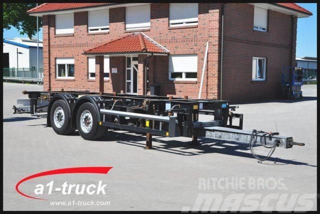 Schmitz Cargobull ZWF 18, Midi, höhen u. längenverstellbare Zugdei