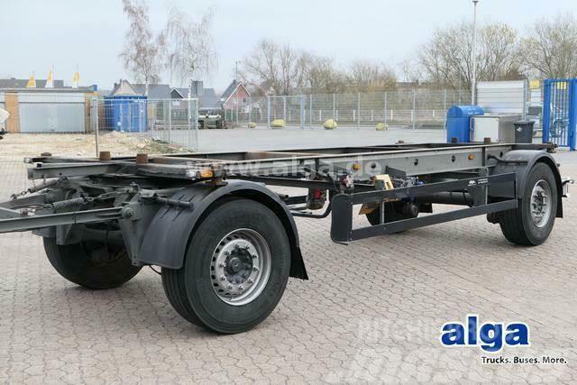 Schwarzmüller AZ S-Serie, BDF, Chassis verzinkt, Luftfederung
