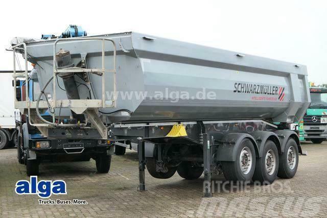 Schwarzmüller SK, Stahl, Hardox, 26m³, Rollplane, Liftachse