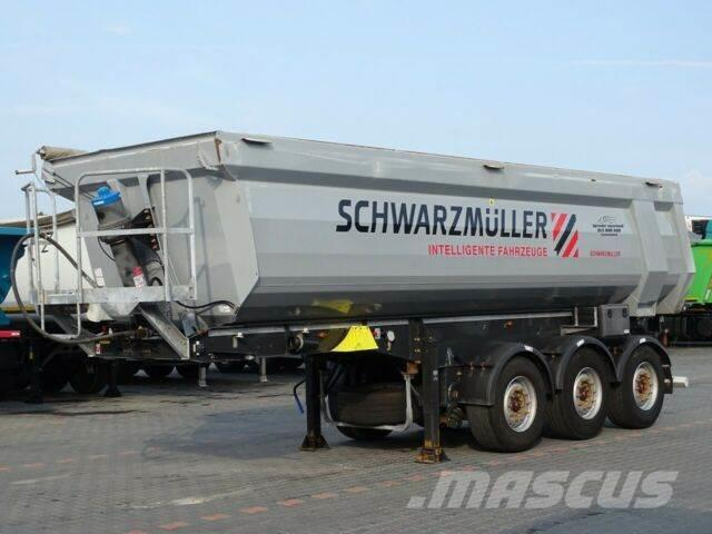 Schwarzmüller TIPPER 28 M3 / WHOLE STEEL /LIFTED AXLE/