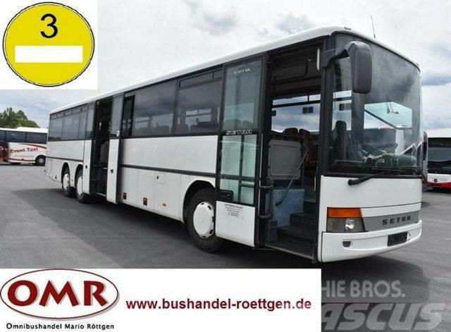 Setra S 317 UL / 550 / Schlatgetriebe / Guter zustand