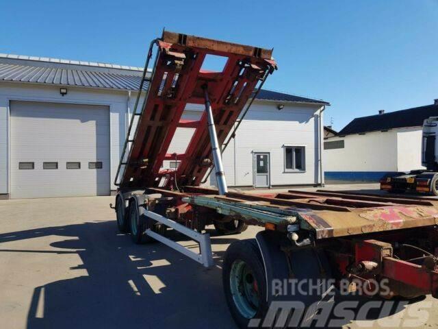 SH Roll-off trailer Tipper 7,00 m 2010 year