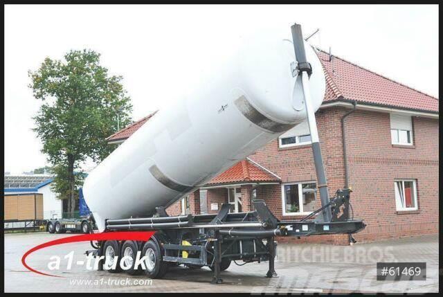 Spitzer Kippsilo 53m³ Lenkachse 24V Hydraulik,