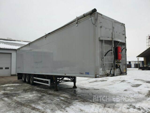 Stas Walkingfloor 92m3 7500 kg!