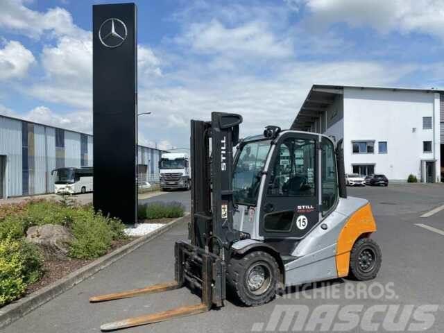 Still RX70-50/600 / Verstellgerät & Seitenschieber