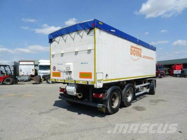 Svan kipper trailer for grain ALU,vin 138