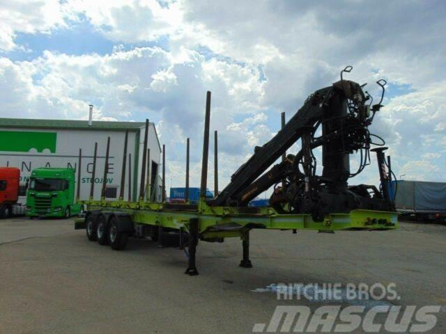Svan woodtransporter with crane vin 033
